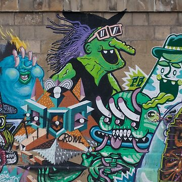 Graffiti Wicked Green Witch by Mythos57
