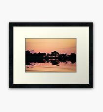 The Calming Force Framed Print