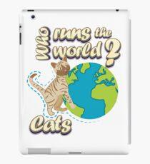 Cats Run the World iPad Case/Skin