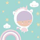 Kawaii Pastel Unicorn  by juiceforb