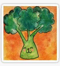 Galaxy Broccoli Sticker