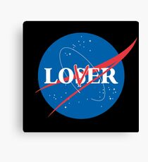 Loser Lover Nasa Mashup Canvas Print