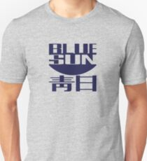 Blaue Sonne (Original) Slim Fit T-Shirt