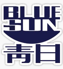 Blue Sun (original) Sticker