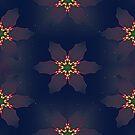 Christmas Poinsettia Lights by Ruth Moratz