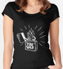 Fire walk with chloe Women's Fitted Scoop T-Shirt