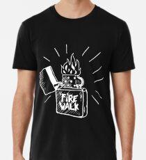 Feuerspaziergang mit Chloe Männer Premium T-Shirts