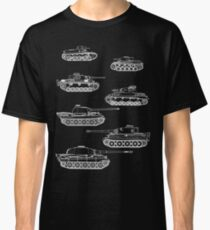 German Panzers of WWII Classic T-Shirt