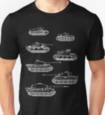 German Panzers of WWII T-Shirt