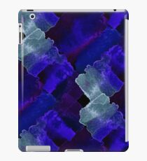 Watercolor chaotic shapes iPad Case/Skin