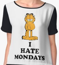 I hate Mondays Women's Chiffon Top