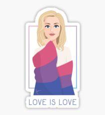 Stella Gibson - Love is love Sticker