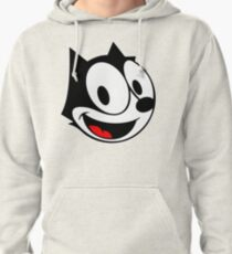 Felix the Cat face Pullover Hoodie