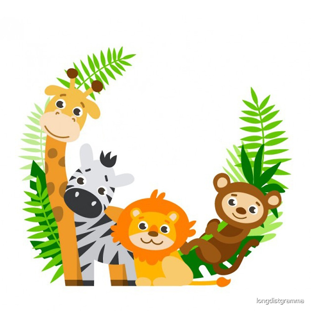 Jungle Safari, Baby Animals by longdistgramma