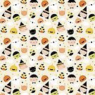 Kawaii Halloween Pattern by juiceforb