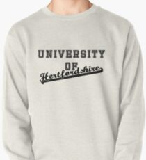 University of Hertfordshire letterman and script Pullover