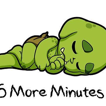 Baby Orcs - Nap - Five More Minutes by EmeraldDice