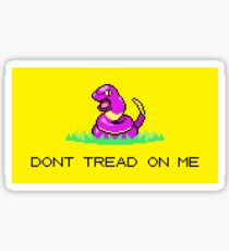Dont Tread on Ekans Sticker