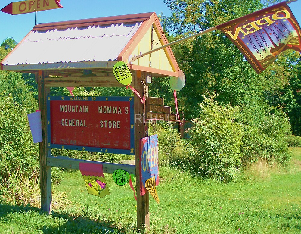 Mountain Momma's General Store Sign by RLHall