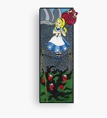 Alice in the Haunted Mansion Canvas Print