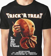 Trick 'r Treat Halloween Mashup T-Shirt Graphic T-Shirt