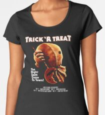 Trick 'r Treat Halloween Mashup T-Shirt Women's Premium T-Shirt