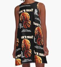 Trick 'r Treat Halloween Mashup T-Shirt A-Line Dress