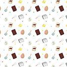 Kawaii cake recipe pattern by juiceforb