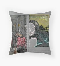 west end 13 Throw Pillow