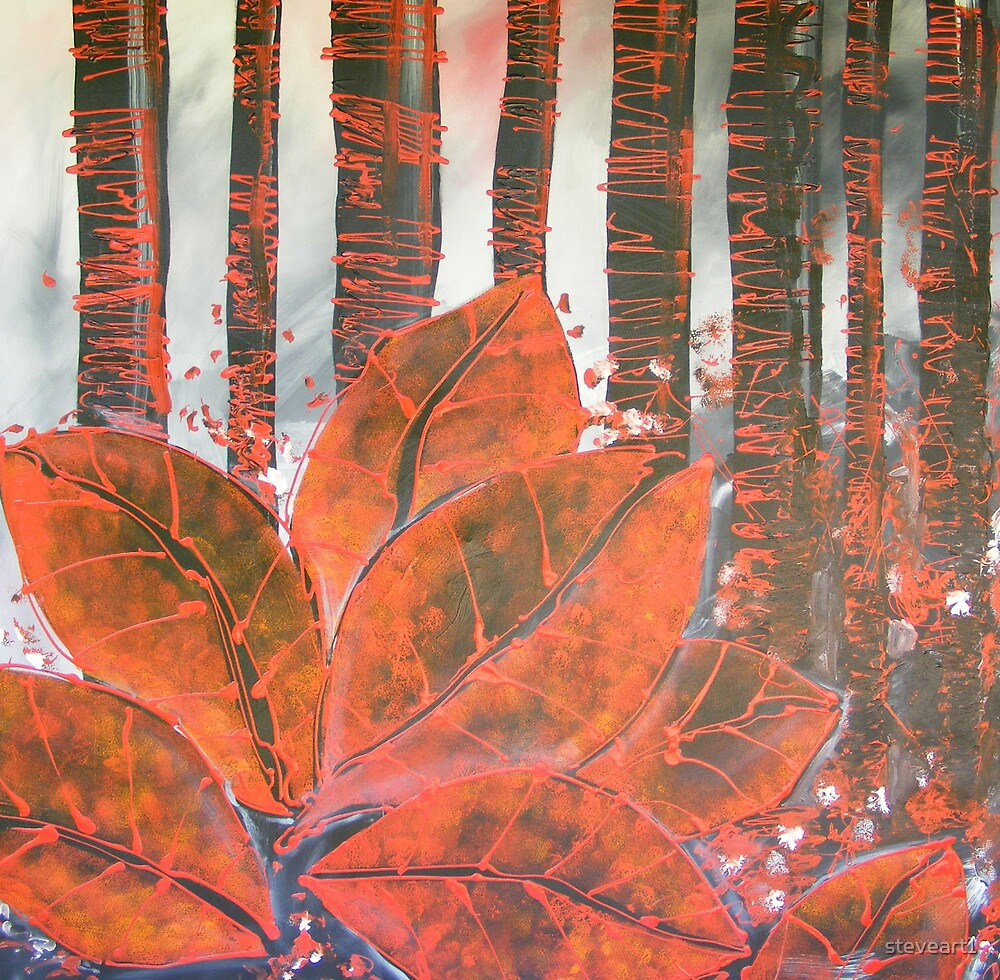 Red Leaf by steveart1