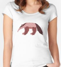 A is for Anteater Women's Fitted Scoop T-Shirt