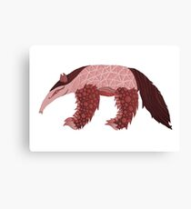 A is for Anteater Canvas Print