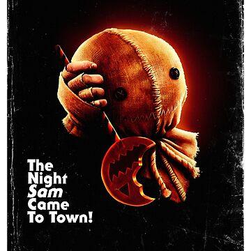 Trick 'r Treat Halloween Poster by samRAW08
