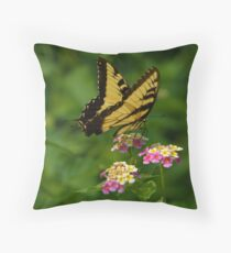 Tiger Swallowtail Throw Pillow