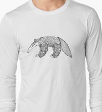 A is for Anteater - B&W T-Shirt