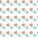 Kawaii pastel bears by juiceforb