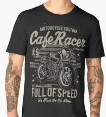 Cafe Racer Motorcycle Retro Vintage Men's Premium T-Shirt