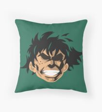 "Izuku ""Eat This"" Throw Pillow"