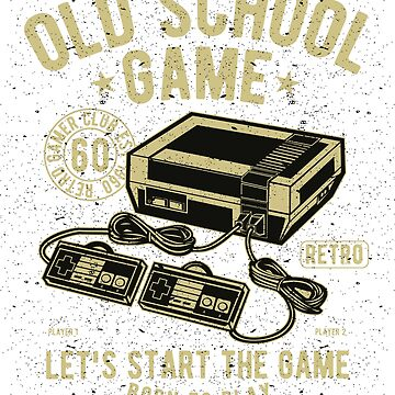 Old School Game by ruhanation