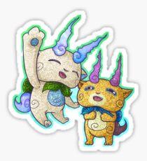 Komasan & Komajiro / Yo-Kai Watch Sticker