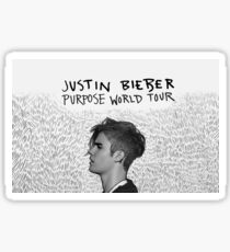 justin bieber purpose world tour Sticker