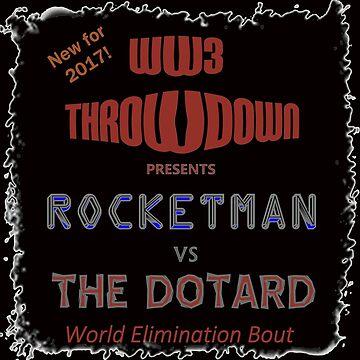 Rocketman Vs The Dotard by LWLex