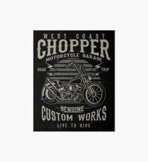 Attractive Chopper Motorcycle Retro Vintage Art Board Part 32