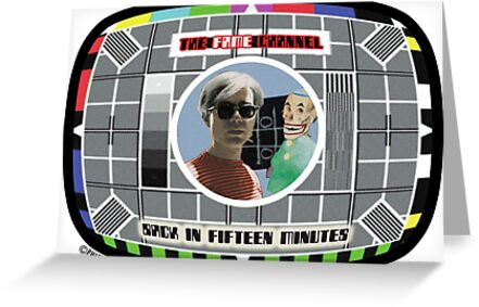 FAME TV - Testcard by phigment-art