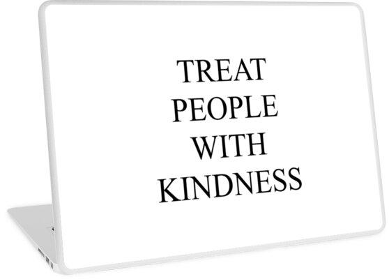 Behandle Menschen mit Freundlichkeit von jmontano