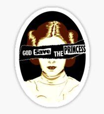 God Save the Princess Sticker