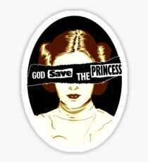 God Save the Princess Sticker