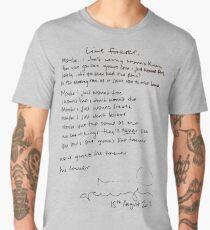 LIVE FOREVER - (handwritten - NG) Men's Premium T-Shirt