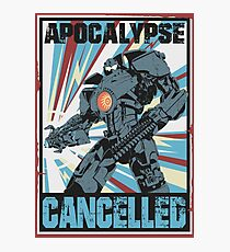 Apocalypse Cancelled Photographic Print