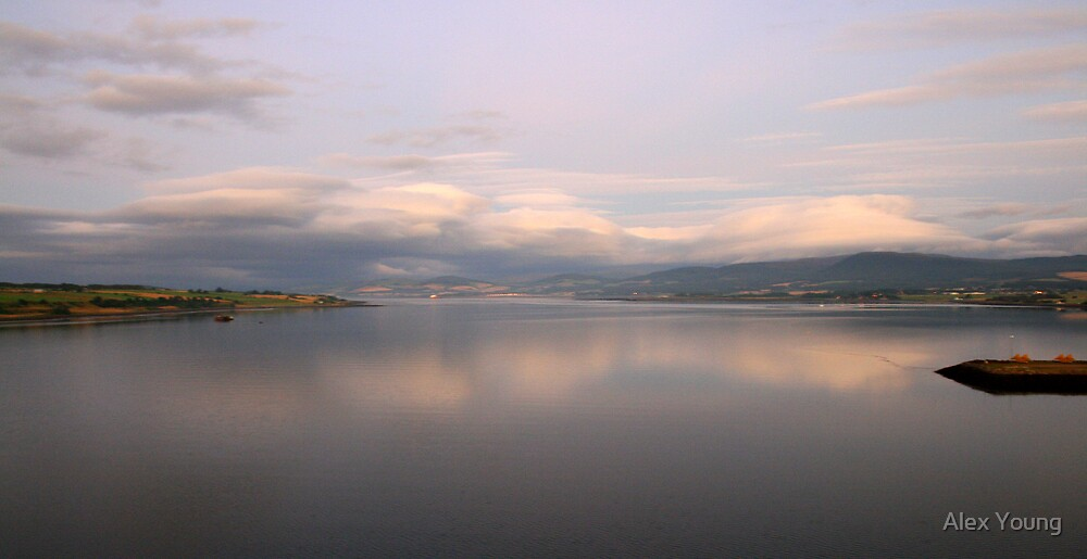 Invergordon,Cromarty Firth, NE Scotland. by Alex Young